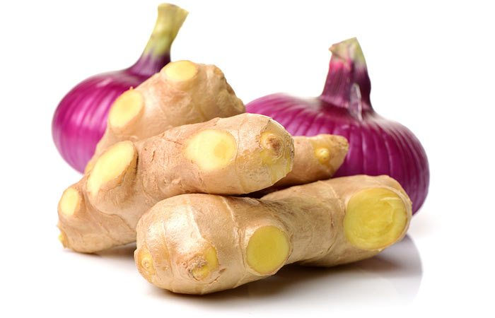 فوائد الزنجبيل والبصل